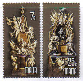 Malta Stamps SG 0599-600 1978 Europa - MINT