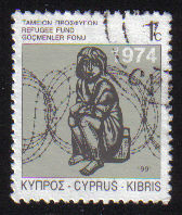 Cyprus Stamps 1991 Refugee Fund Tax SG 807 - USED (e056)