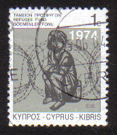 Cyprus Stamps 2002 Refugee Fund Tax SG 807 - USED (e094)