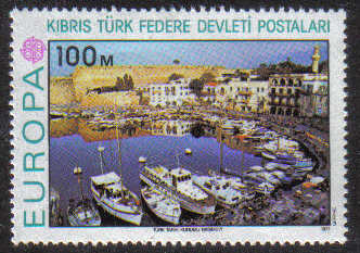 North Cyprus Stamps SG 050 1977 100m Europa - MINT