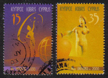 Cyprus Stamps SG 0983 (MS) 2000 Miss Universe (seperated) - USED (g664)