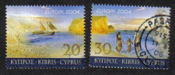 Cyprus Stamps SG 1073-74 2004 Europa Holidays - USED (g650)