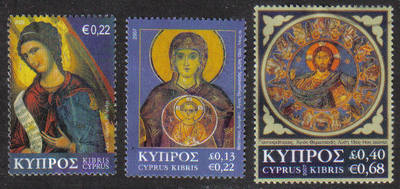 Cyprus Stamps SG 1153-55 2007 Christmas - USED (g638)
