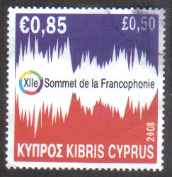 Cyprus Stamps SG 1169 2008 Francophone - USED (g634)