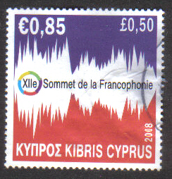 Cyprus Stamps SG 1169 2008 Francophone - USED (g633)