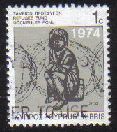 Cyprus Stamps 2003 Refugee Fund Tax SG 807 - USED (g547)