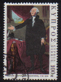 Cyprus Stamps SG 474 1976 United States of America Bicentenary - USED (e357)