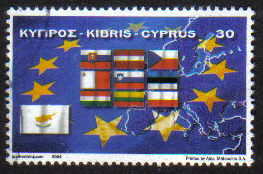 Cyprus Stamps SG 1071 2004 EU Accession  - USED (g737)