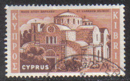 Cyprus Stamps SG 215 1962 Definitive Views 25 Mils - USED (g697)