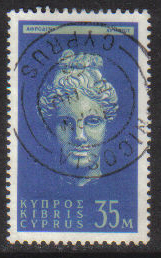 Cyprus Stamps SG 217 1962 Definitive Views 35 Mils - USED (g699)