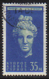 Cyprus Stamps SG 217 1962 Definitive Views 35 Mils - USED (g700)