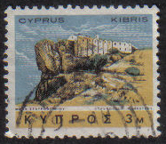 Cyprus Stamps SG 283 1966 2nd Definitives Antiquities 3 Mils - USED (g711)