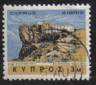Cyprus Stamps SG 283 1966 2nd Definitives Antiquities 3 Mils - USED (g712)