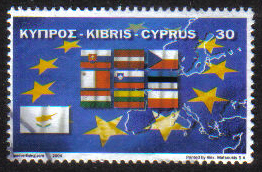 Cyprus Stamps SG 1071 2004 EU Accession  - USED (g736)