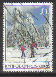 Cyprus Stamps SG 661 1985 £1.00 - USED (g852)