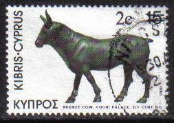 Cyprus Stamps SG 608 1983 2c Overprint - USED (g816)