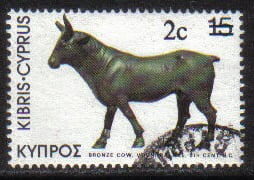Cyprus Stamps SG 608 1983 2c Overprint - USED (g817)