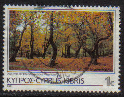 Cyprus Stamps SG 648 1985 1 Cent - USED (g873)