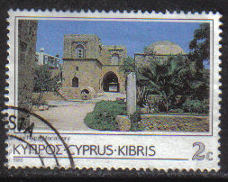 Cyprus Stamps SG 649 1985 2 Cent - USED (g871)
