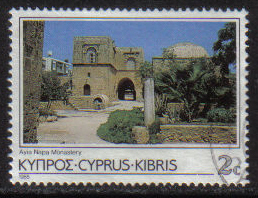 Cyprus Stamps SG 649 1985 2 Cent - USED (g872)