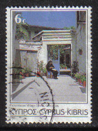 Cyprus Stamps SG 653 1985 6 Cent - USED (g867)