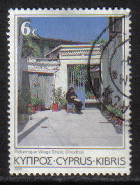 Cyprus Stamps SG 653 1985 6 Cent - USED (g868)