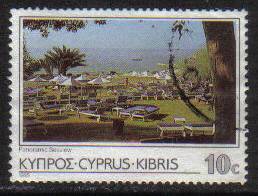 Cyprus Stamps SG 654 1985 10 Cent - USED (g866)