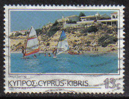 Cyprus Stamps SG 655 1985 13 Cent - USED (g864)
