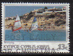 Cyprus Stamps SG 655 1985 13 Cent - USED (g865)