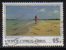 Cyprus Stamps SG 656 1985 15 Cent - USED (g842)