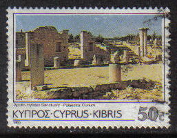 Cyprus Stamps SG 660 1985 50 Cent - USED (g850)