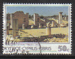 Cyprus Stamps SG 660 1985 50 Cent - USED (g851)