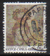 Cyprus Stamps SG 763 1989 7th Definitives Mosaics 15 Cent - USED (g898)