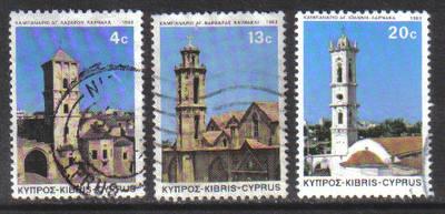 Cyprus Stamps SG 625-27 1983 Christmas - USED (g965)