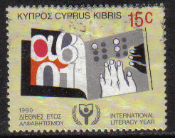 Cyprus Stamps SG 771 1990 15c - USED (g991)