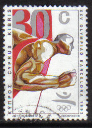 Cyprus Stamps SG 813 1992 30c - USED (g998)