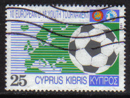 Cyprus Stamps SG 816 1992 25c - USED (h002)