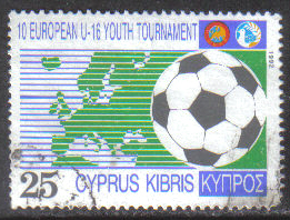 Cyprus Stamps SG 816 1992 25c - USED (h003)