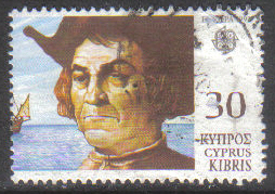 Cyprus Stamps SG 821 1992 30c - USED (h008)