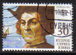 Cyprus Stamps SG 821 1992 30c - USED (h009)