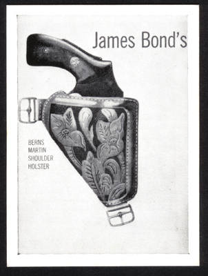 James Bond Original 1965 Somportex Trade Card. Number 46