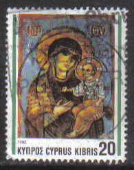 Cyprus Stamps SG 829 1992 20c - USED (h016)