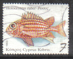 Cyprus Stamps SG 837 1993 7c - USED (h024)
