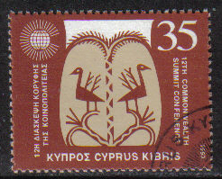 Cyprus Stamps SG 841 1993 35c - USED (h029)