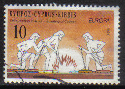 Cyprus Stamps SG 847 1994 10c - USED (h032)