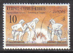 Cyprus Stamps SG 847 1994 10c - USED (h033)