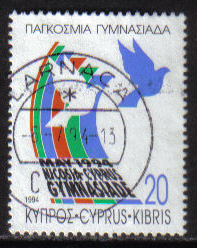 Cyprus Stamps SG 851 1994 20c - USED (h038)