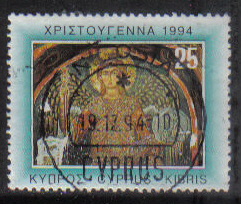 Cyprus Stamps SG 862 1994 25c - USED (h048)