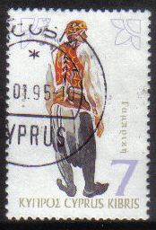 Cyprus Stamps SG 867 1994 7c - USED (h053)