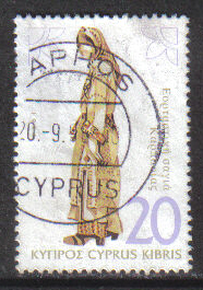 Cyprus Stamps SG 870 1994 20c - USED (h059)